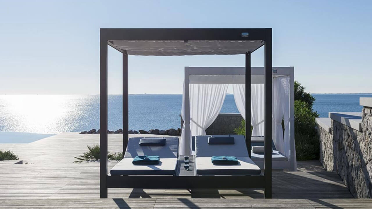 Relax a bordo piscina - Afrodite (gazebi professionali)