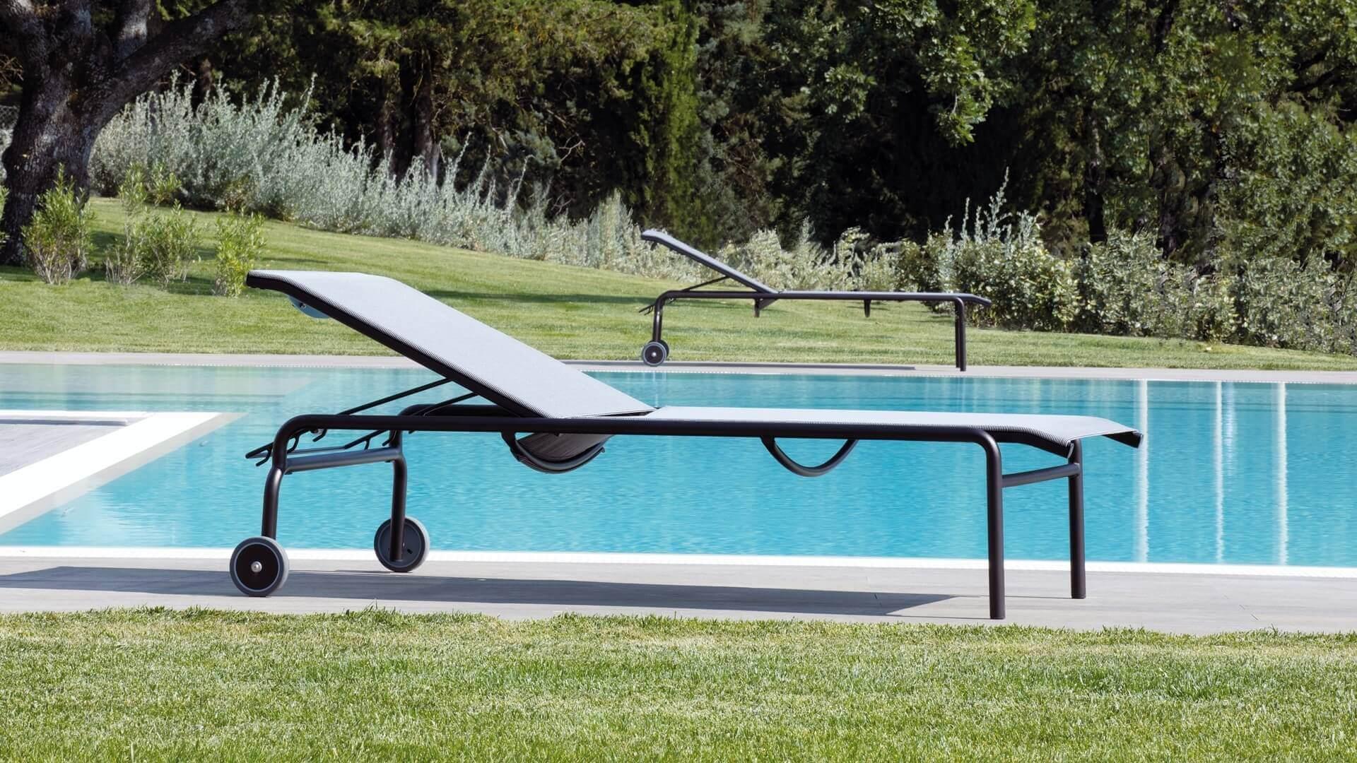Relax a bordo piscina - Miami (lettini da piscina)