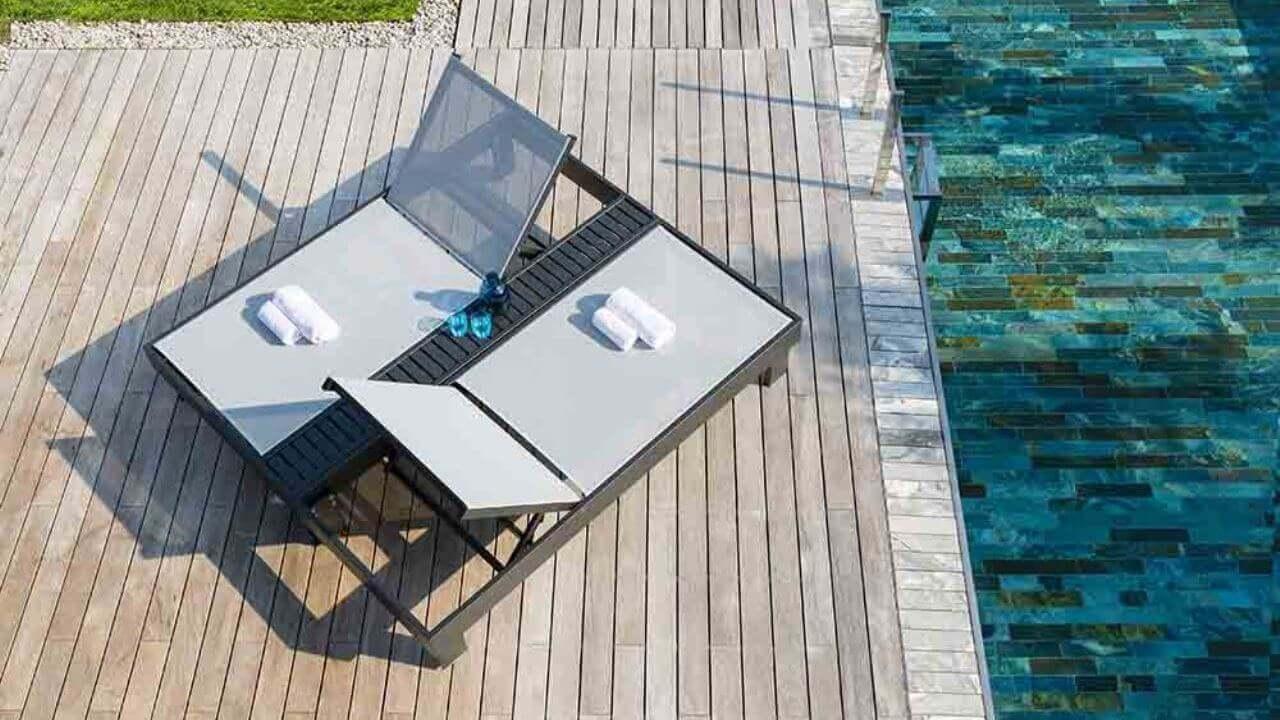 Relax a bordo piscina - Polluce (lettini da piscina)