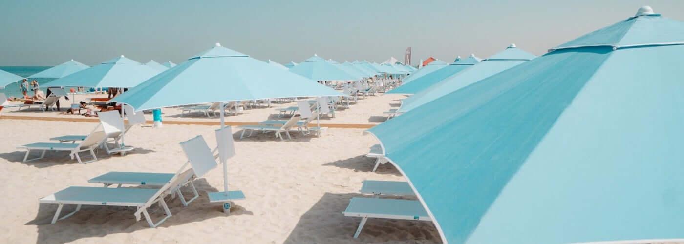 ULISSE. Il lettino prendisole più popolare di Dubai