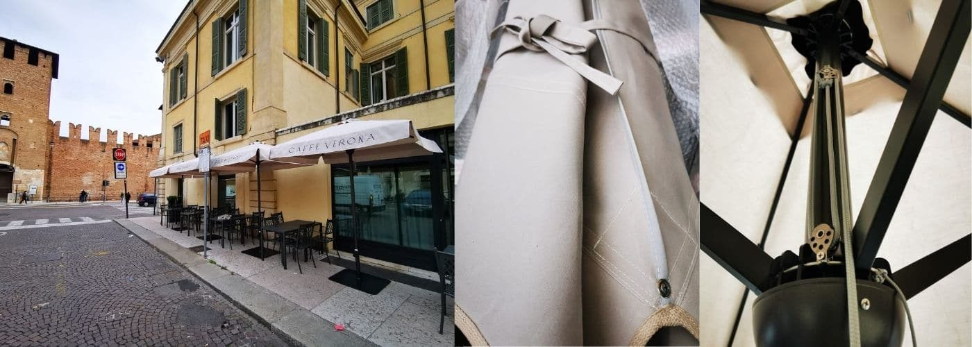 Ombrelloni centro storico - Professional di Gaggio a Verona